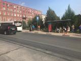 Автобус сбил 19ти летнюю девушку.